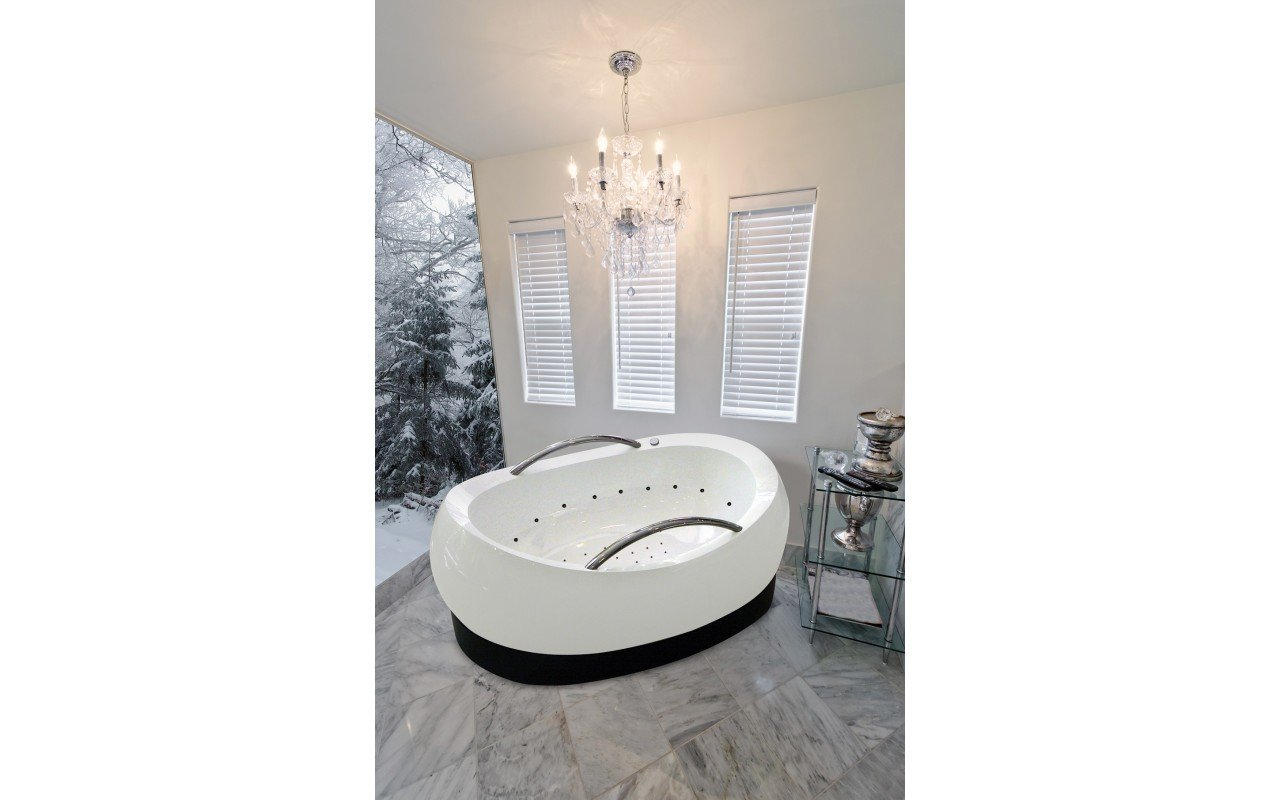 AdmireMe Wht Relax Light Weight Stone Air Massage Bathtub by Aquatica 3 web