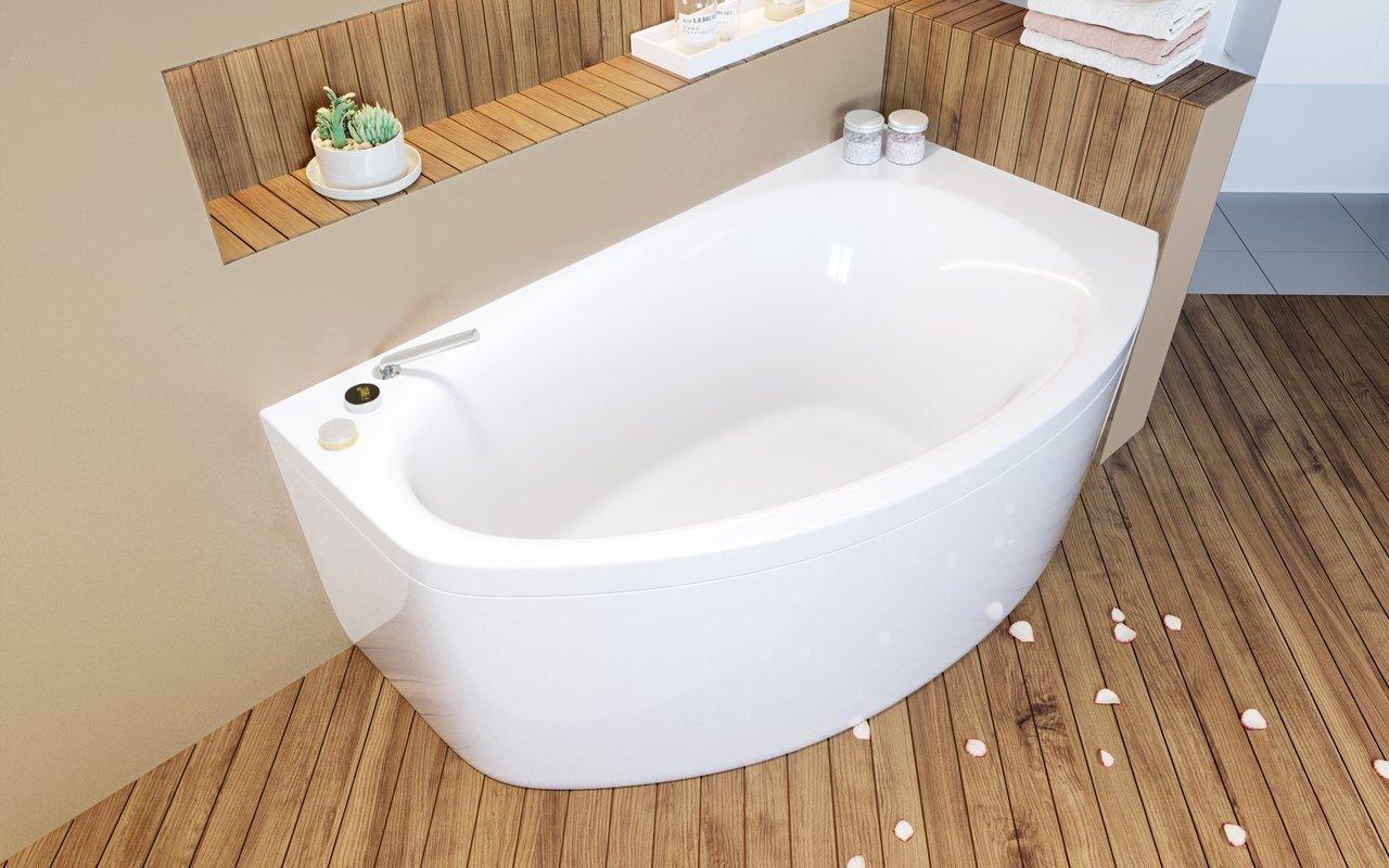 Aquatica Anette-C-L-Wht Corner Acrylic Bathtub picture № 0