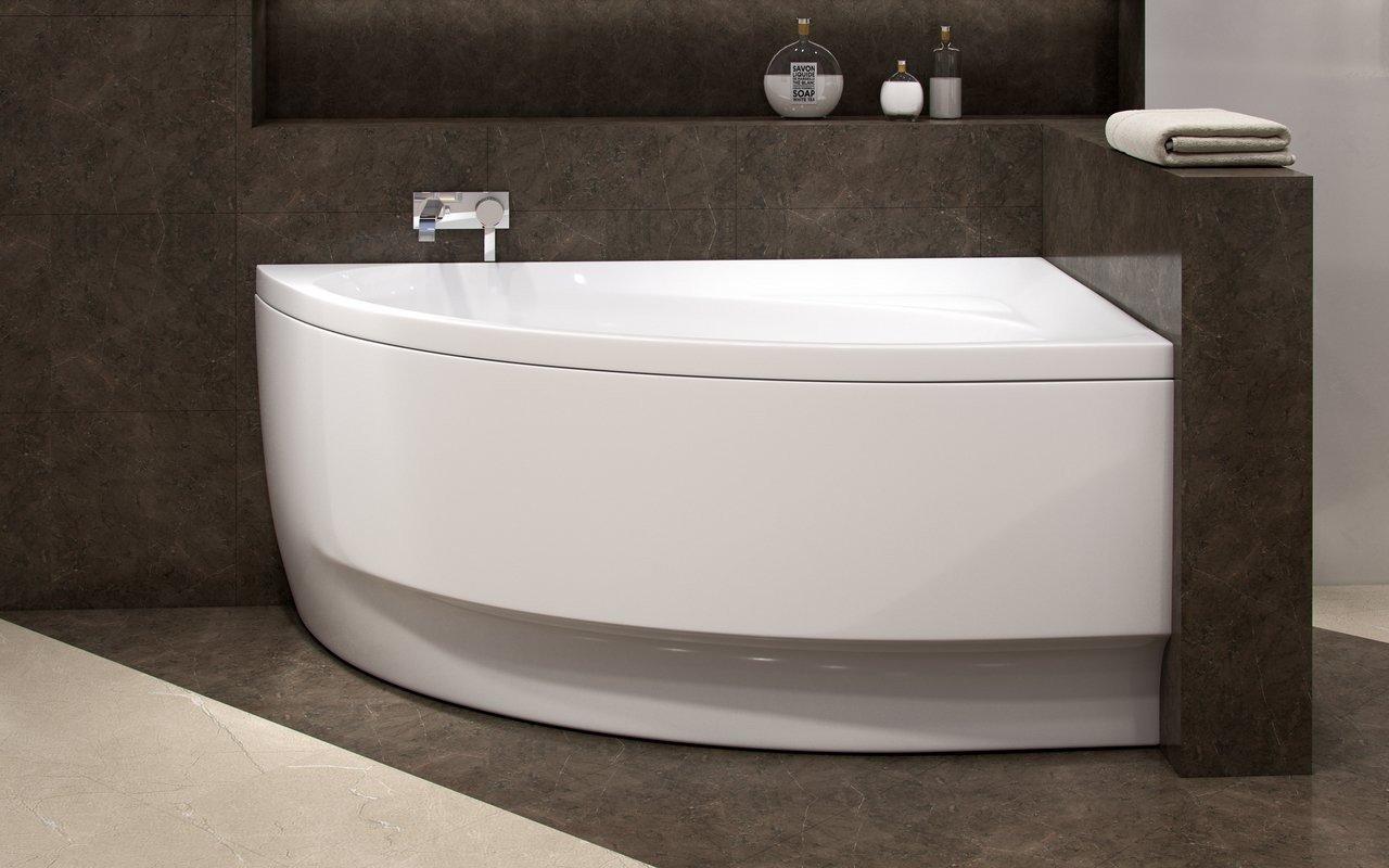 Aquatica Idea-L-Wht Corner Acrylic Bathtub picture № 0