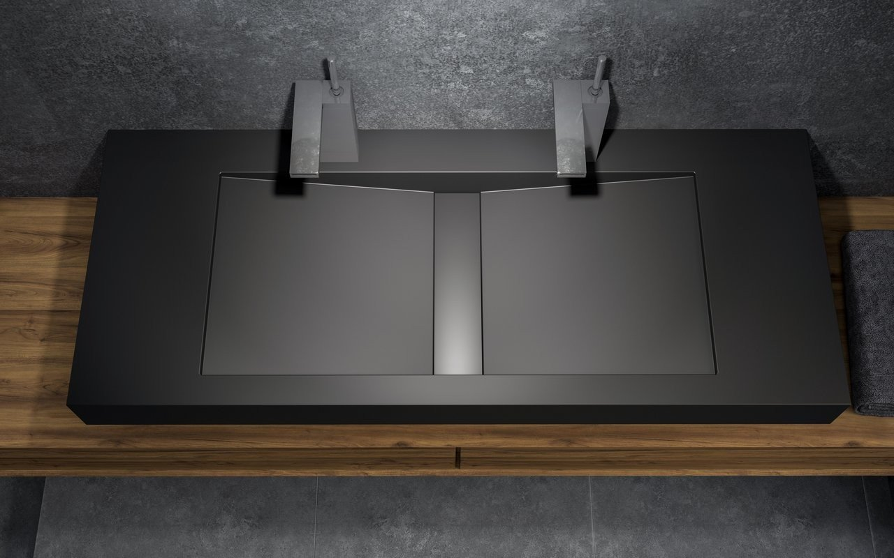 Aquatica Millennium 120 Blck Stone Bathroom Sink 02 (web)