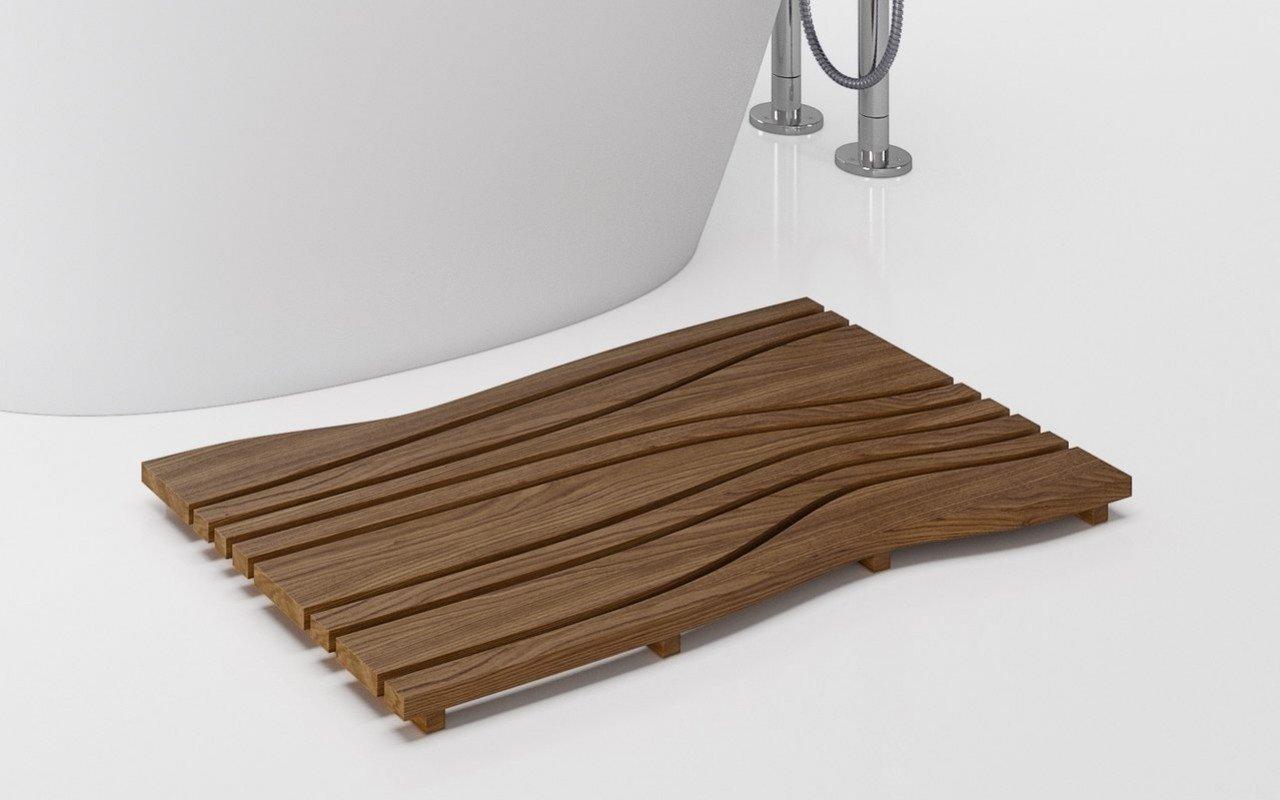 Aquatica Onde Waterproof Teak Wood Floor Mat 04 (web)