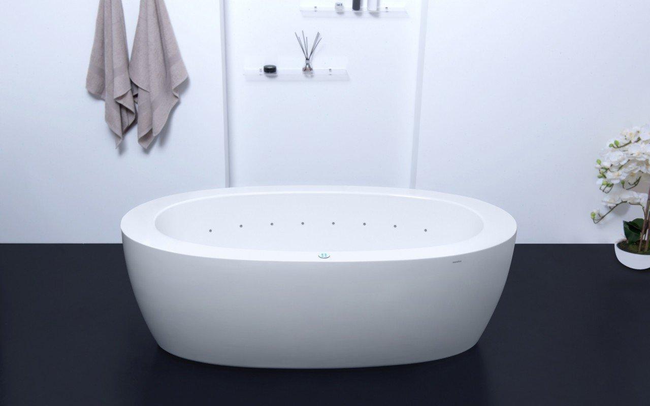 Aquatica Purescape™ 174B-Wht Relax Air Massage Bathtub picture № 0