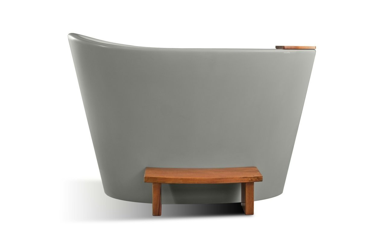 Aquatica True Ofuro Concrete Freestanding Stone Japanese Soaking Bathtub 02 (web)