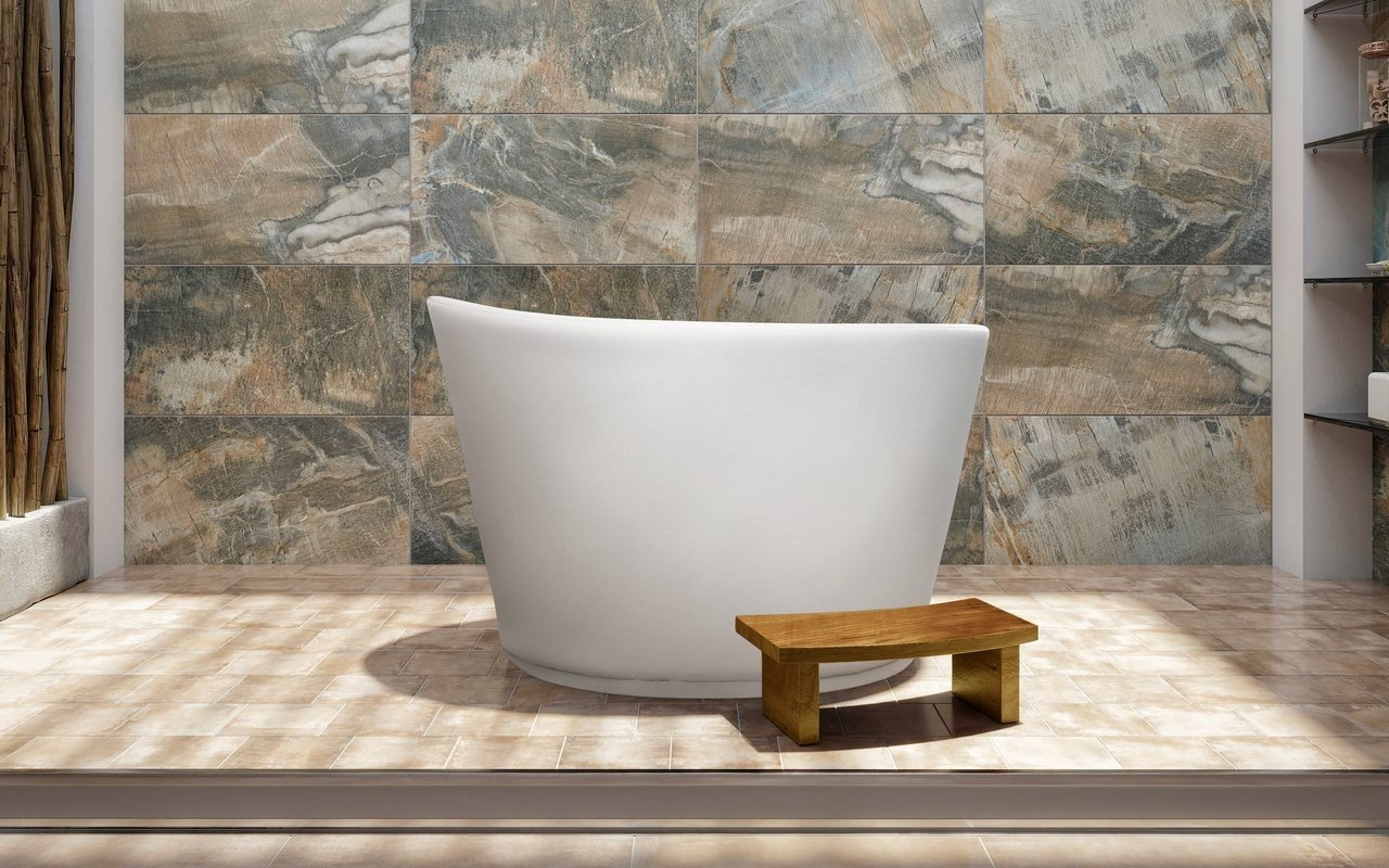 Aquatica True Ofuro Indoor/Outdoor UltraLeather Bathtub Cover picture № 0