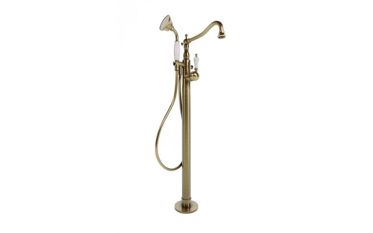 Aquatica caesar faucet floor mounted tub filler bronze 01 (web)