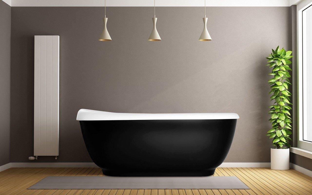 Aquatica fido black freestanding solid sirface bathtub web 01
