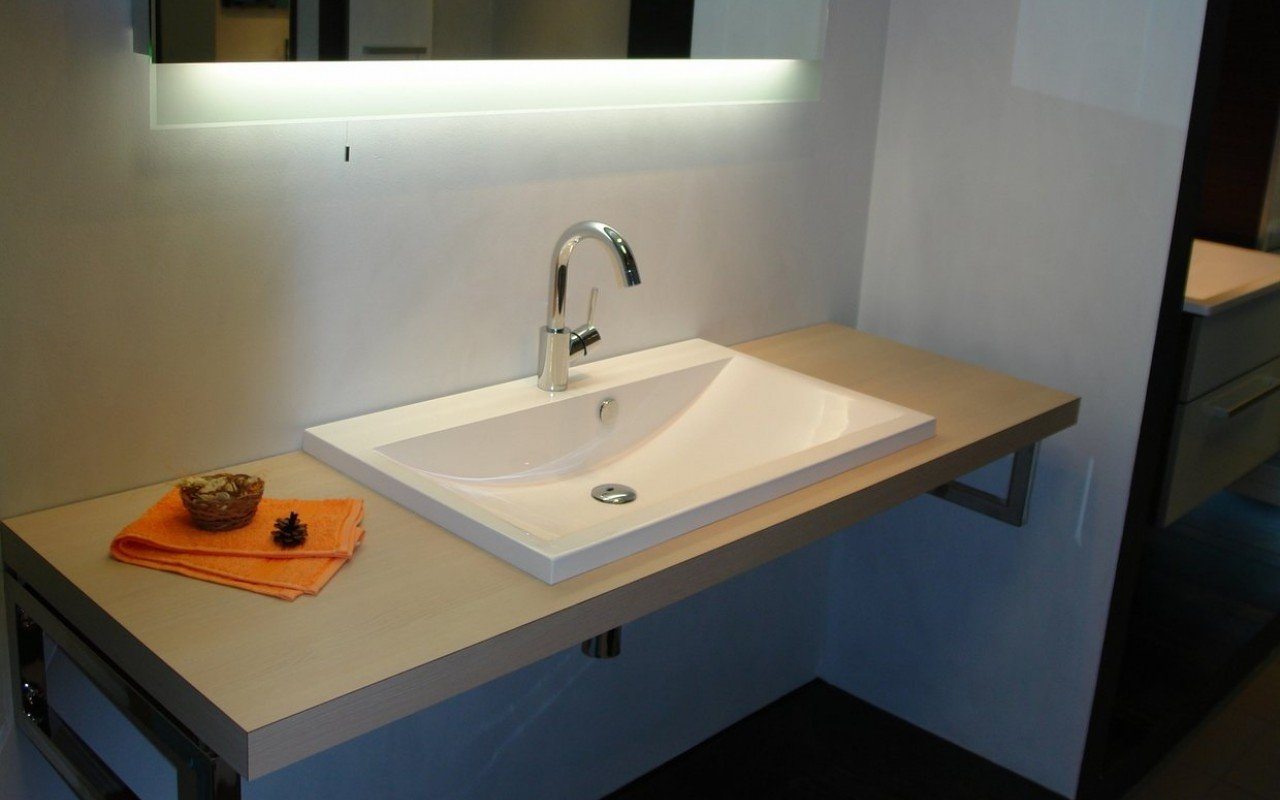 Aquatica Kandi Stone Drop-in Bathroom Sink picture № 0