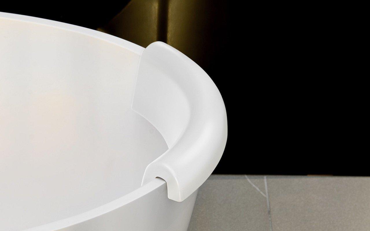 Aquatica Beatrice Bath Headrest White picture № 0