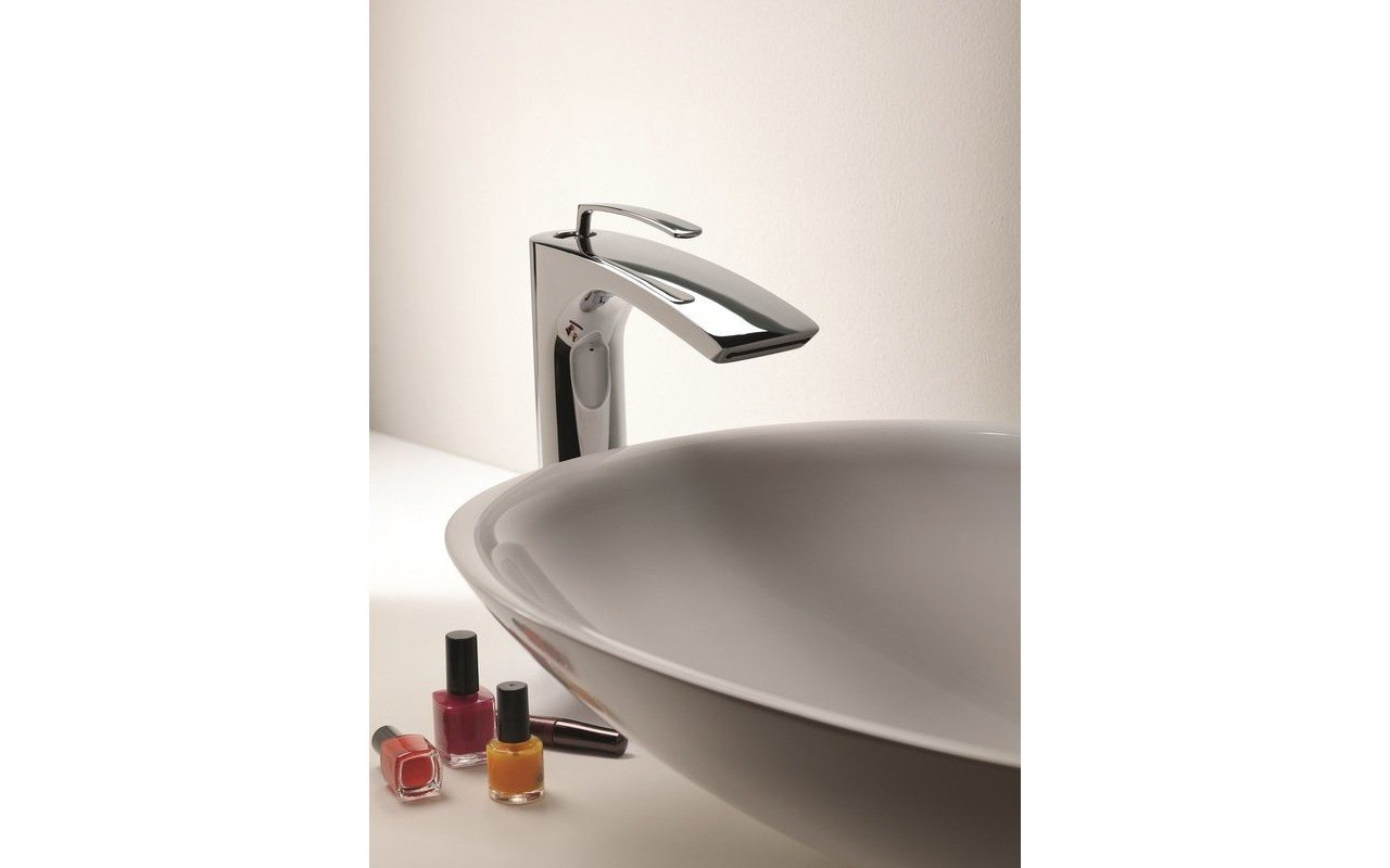 Bollicine 228 Sink Faucet Chrome by Aquatica (2) (web)