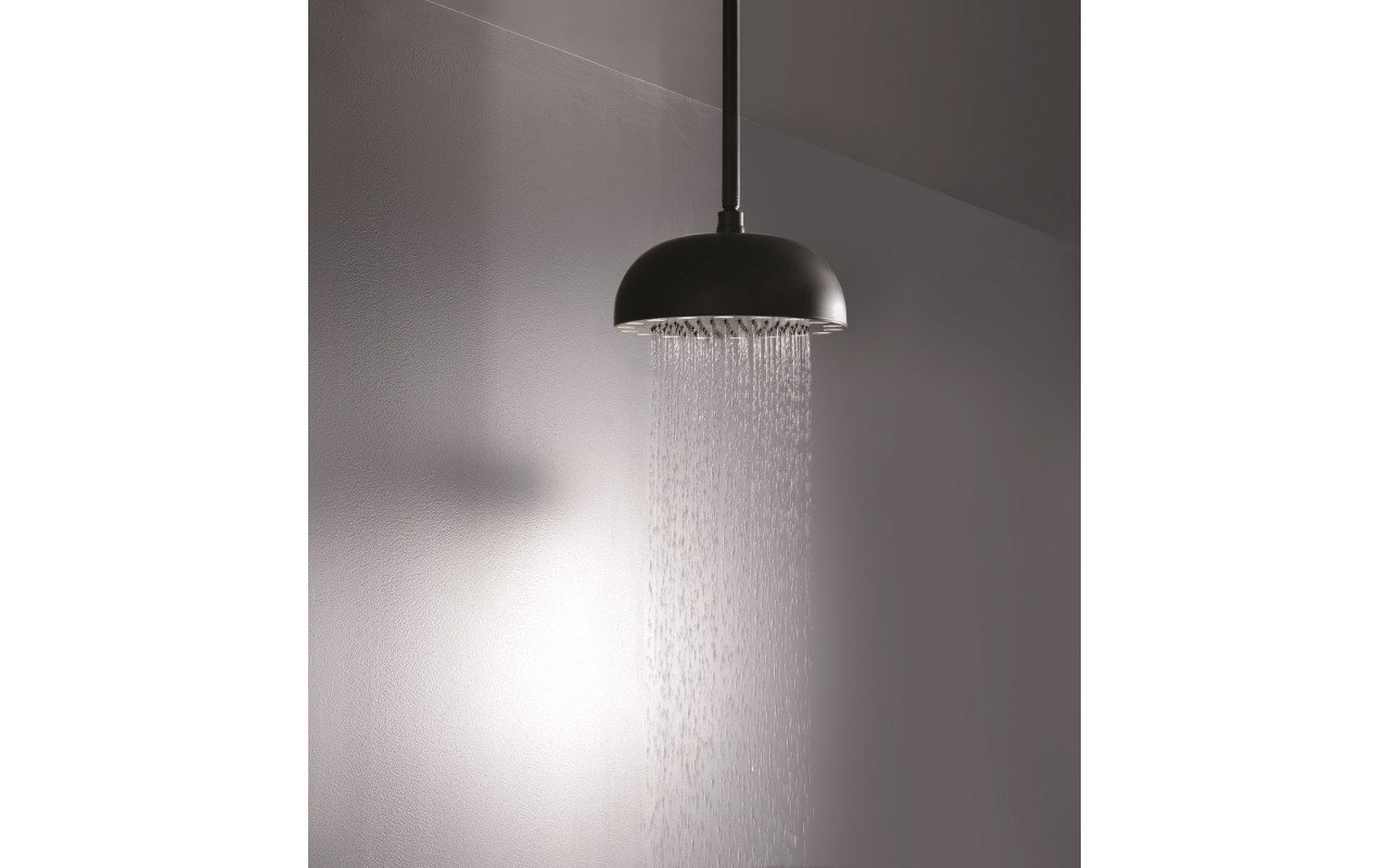 Dynamo Dynamic LED Round Shower Head Black Matte web 2