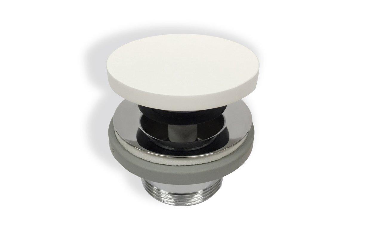 Euroclicker-FA-Wht (White) Stone Sink Drain picture № 0