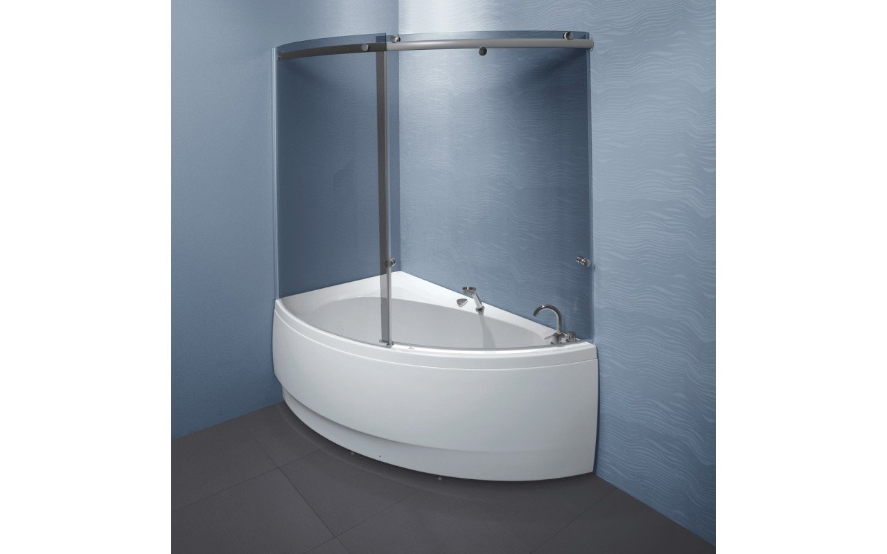 Idea R Tinted Curved Glass Shower Wall 9276 web