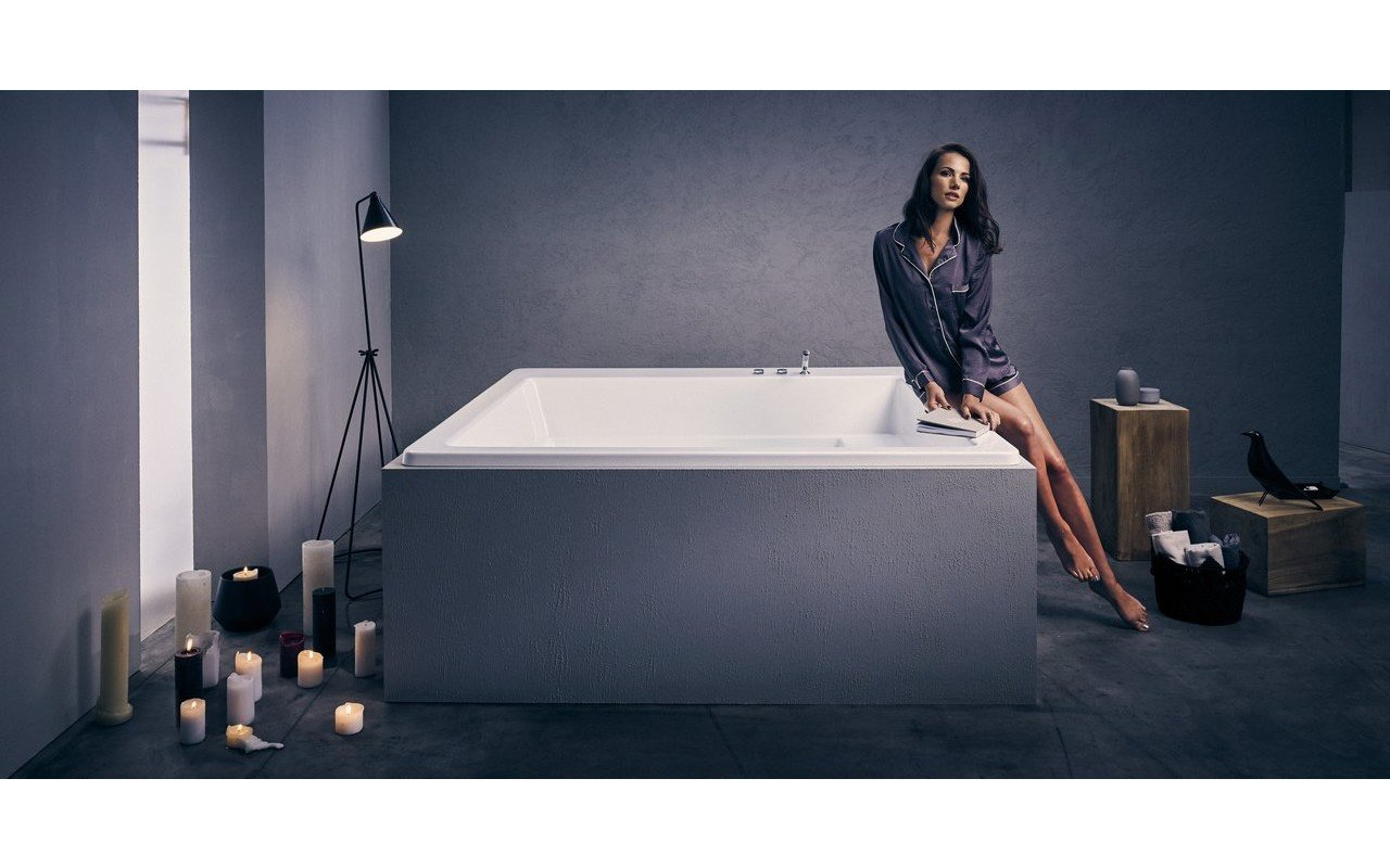 Lacus Wht Drop In Acrylic Bathtub 02