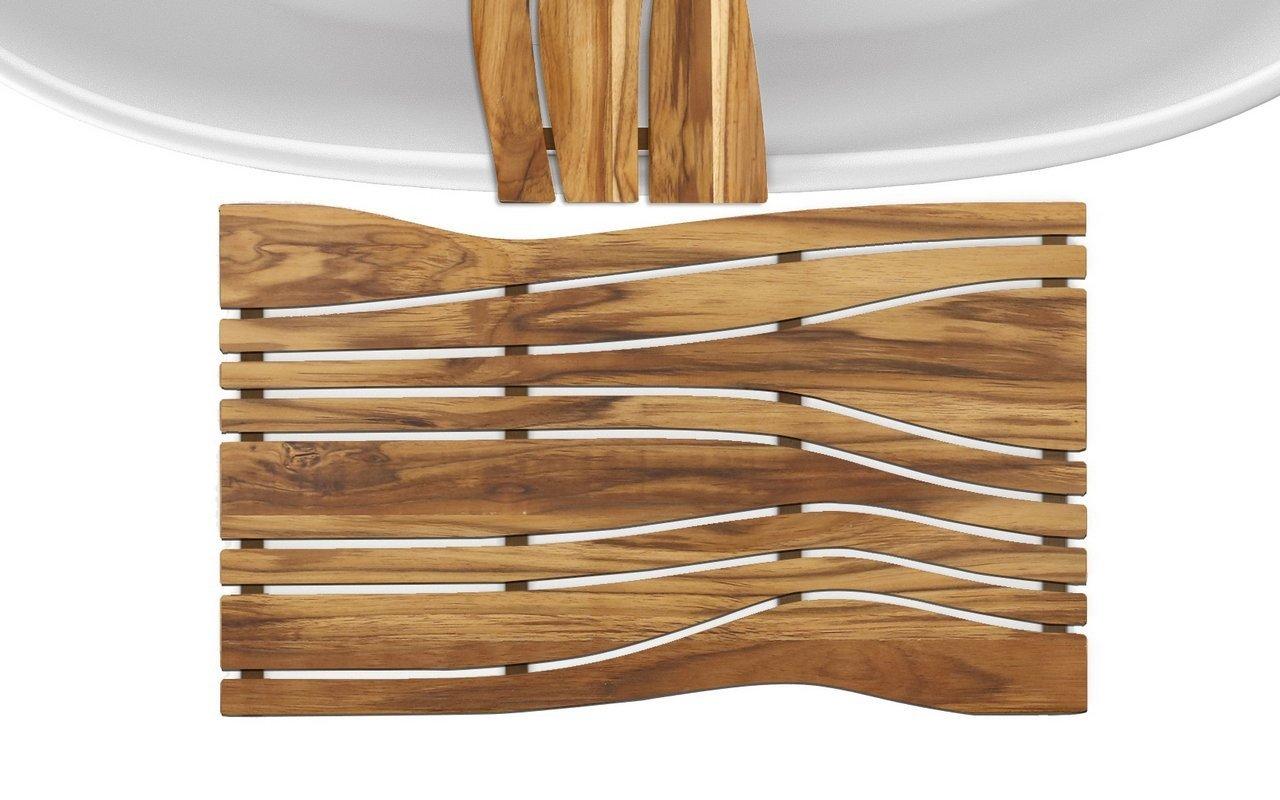 Onde waterproof teak wood floor mat 04 (web)
