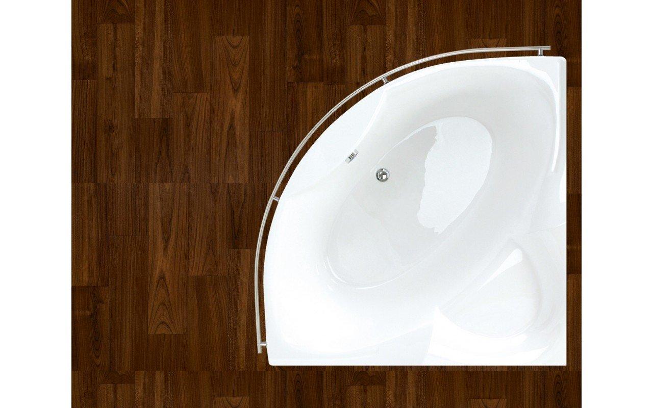 PureScape 314 Corner Acrylic Bathtub by Aquatica web 2