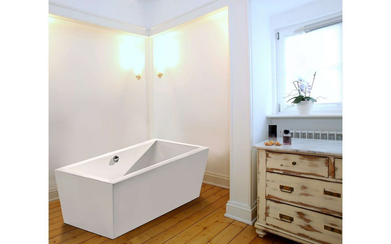 Purescape 026 Rectangular Freestanding Bathtub 5