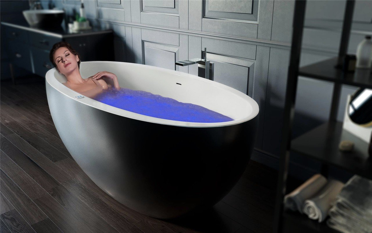 Sensuality mini f black wht relax freestanding solid surface bathtub by Aquatica 19 (web)