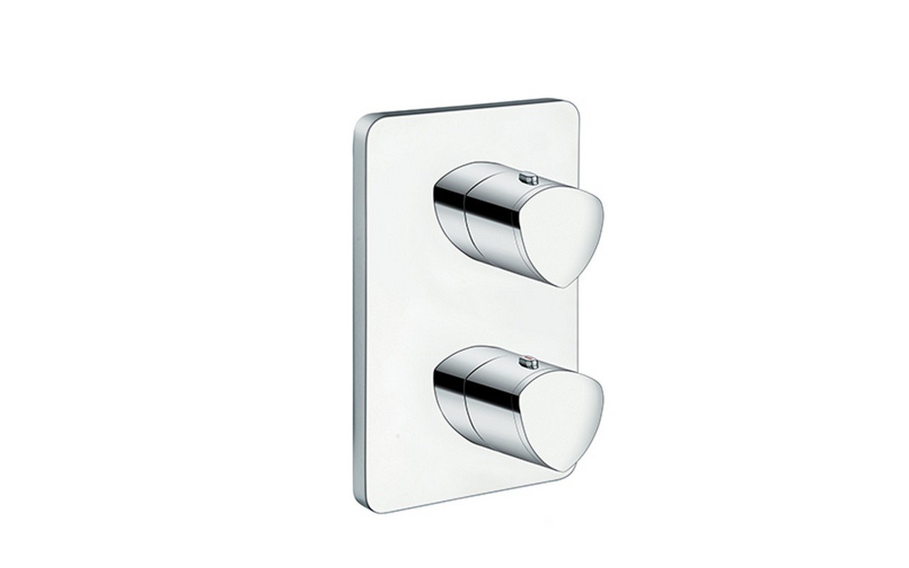 Trinity-752 High Throughput Thermostatic Valve with Built-In Diverter and 2 Outlets picture № 0