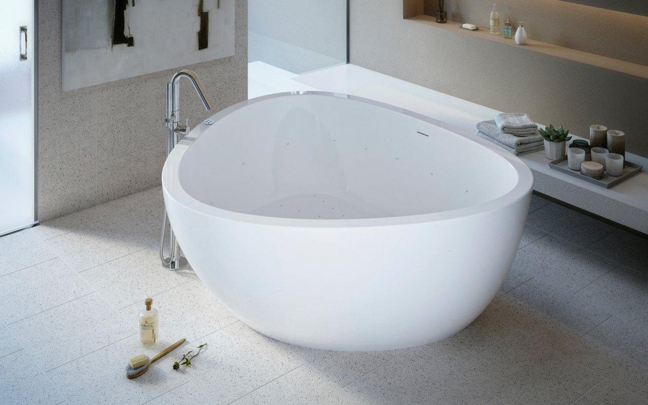 Trinity Relax Freestanding Light Weight Stone Bathtub High Gloss 01 (web)
