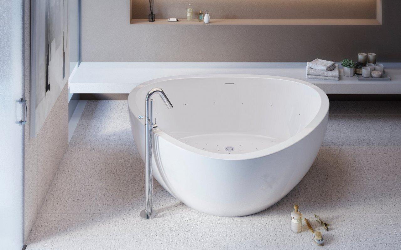 Trinity Relax Freestanding Light Weight Stone Bathtub High Gloss 03 (web)