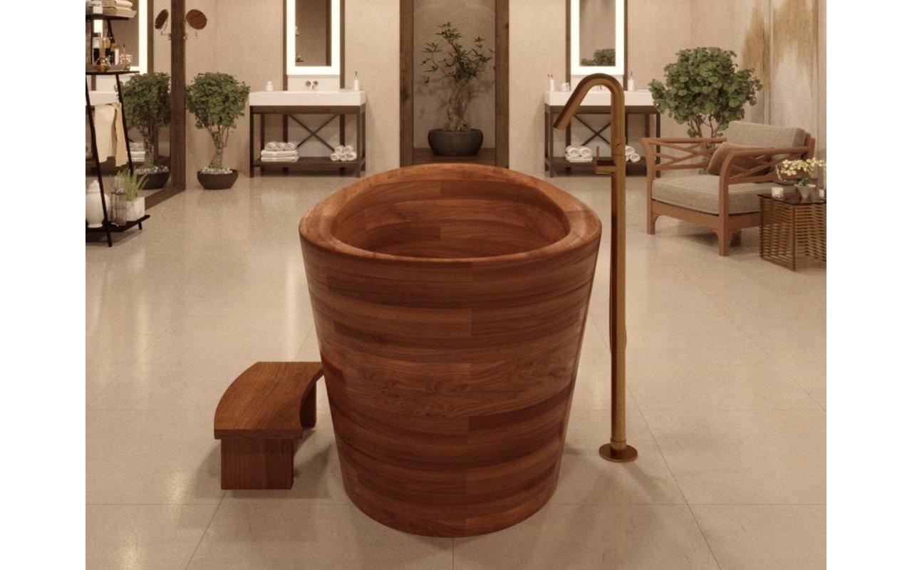 True Ofuro Wooden Freestanding Soaking Bathtub 02 (web)