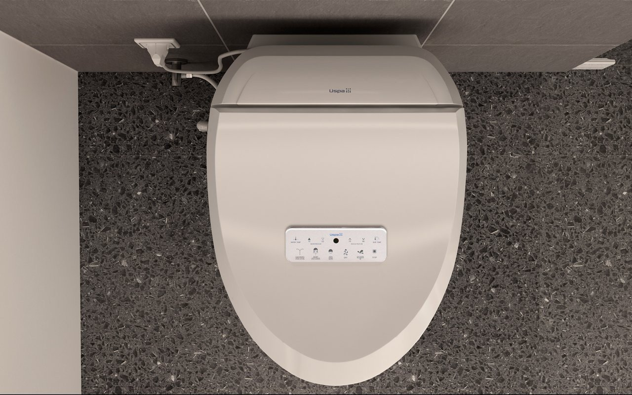 Prime Uspa 7035 C Hygienic Electronic Bidet Seat With Remotely Controlled Wash Function Spiritservingveterans Wood Chair Design Ideas Spiritservingveteransorg