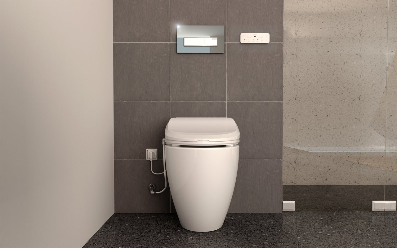 USPA 7035 Comfort Hygienic Electronic Bidet Seat with Remotely Controlled Wash Function (2) (web)