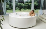 Allegra Round Freestanding Bathtub 4