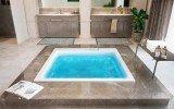 Aquatica Lacus Wht Drop In Relax Air Massage Bathtub blue (web)