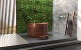 Aquatica True Ofuro Duo Wooden Freestanding Japanese Soaking Bathtub 06 (web)