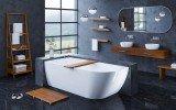 Aquatica Universal 32 Waterproof Wall Mounted Iroko Wood Towel Rack 03 (web)