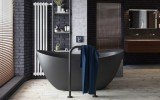 Aquatica Purescape 171 Black Freestanding Solid Surface Bathtub Project in Moscow Russia main (web)