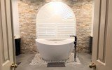Aquatica Purescape 171 Mini Freestanding Cast Stone Bathtub FL 01
