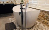 Aquatica Purescape 171 Mini Freestanding Cast Stone Bathtub FL 03