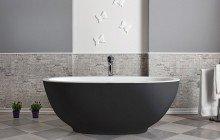 Aquatica Karolina Blck Wht Freestanding Solid Surface Bathtub 01 1 (web)