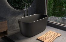 Aquatica Lullaby Blck Mini Freestanding Solid Surface Bathtub 05 (web)