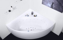 Olivia Relax Corner Acrylic Air Massage Bathtub by Aquatica web DSC2573