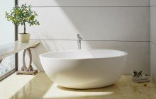 Spoon 2 Freestanding Solid Surface Bathtub by Aquatica 01 (web)