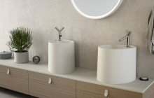 Aquatica OVO Stone Bathroom Vessel Sink 04
