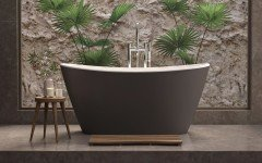 Aquatica Purescape 748M Freestanding Grey Brown Wht Solid Surface Bathtub Fine Matte 01 (web)