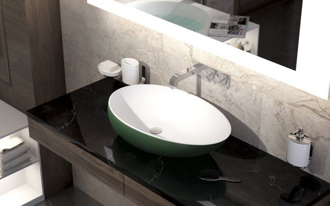 Aquatica Spoon 2 Moss Green Wht Stone Bathroom Vessel Sink 02 (web)