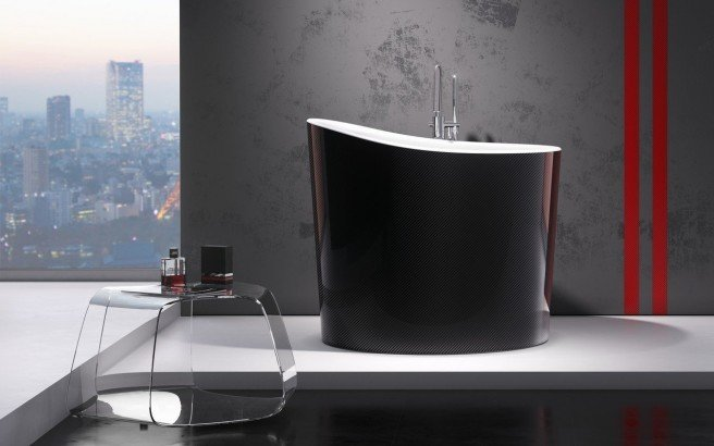 Aquatica True Ofuro Mini Carbon Wht Freestanding Stone Stone Japanese Soaking Bathtub 02 (web)