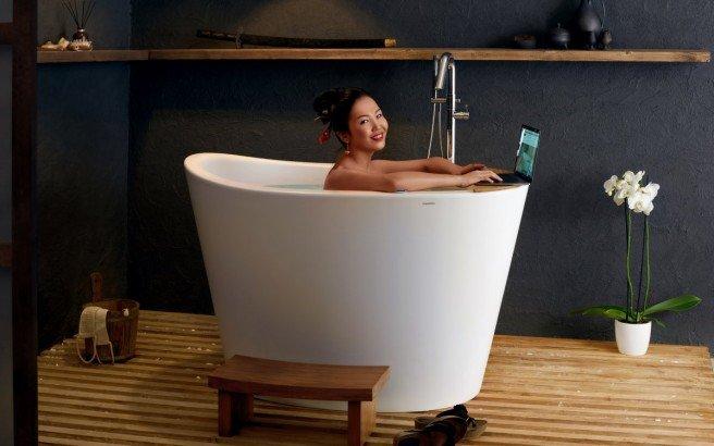 Aquatica True Ofuro Tranquility Heated Japanese Bathtub US version 110V 60Hz 01 (web)