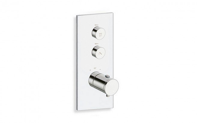 RD 722 V Throughput Thermostatic Valve with 2 Independent Volume Controls