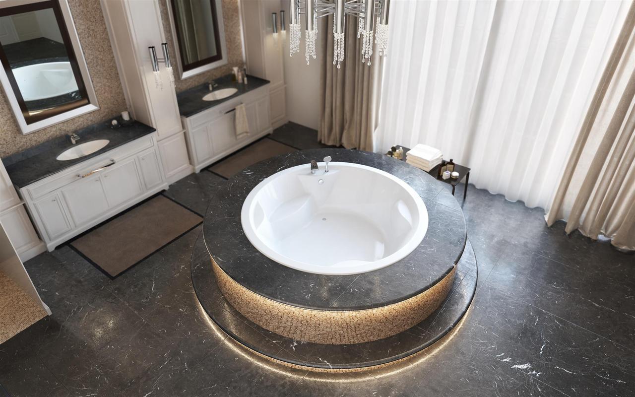 Allegra blt in wht built in acrylic bathtub by Aquatica 02 (web)