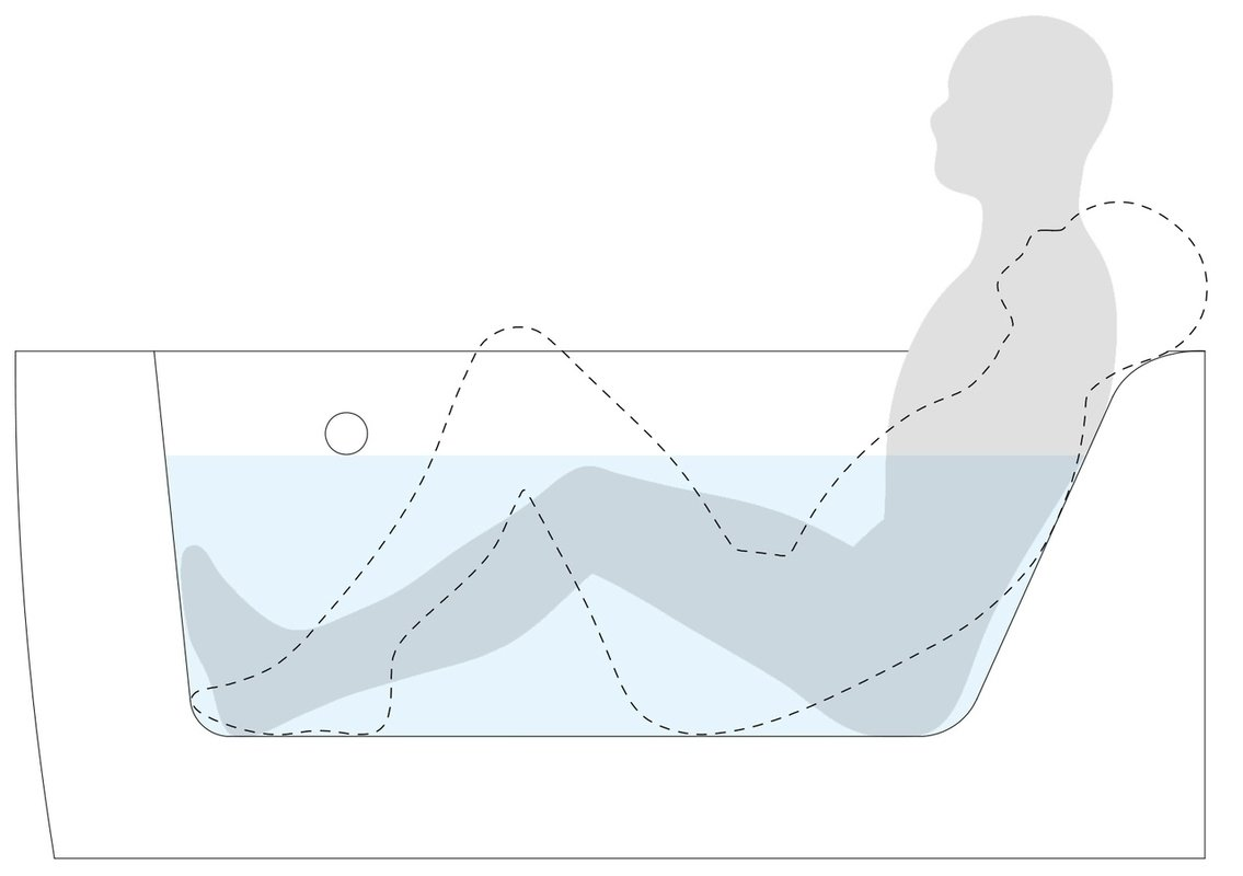 ᐈluxury Aquatica Idea L Wht Corner Acrylic Bathtub Best Prices Aquatica