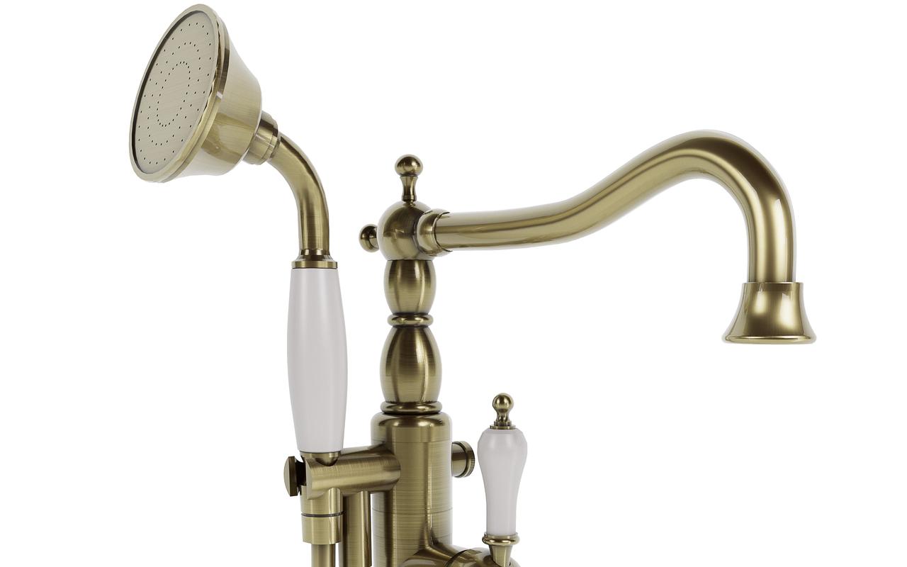 Aquatica caesar faucet floor mounted tub filler bronze 04 (web)