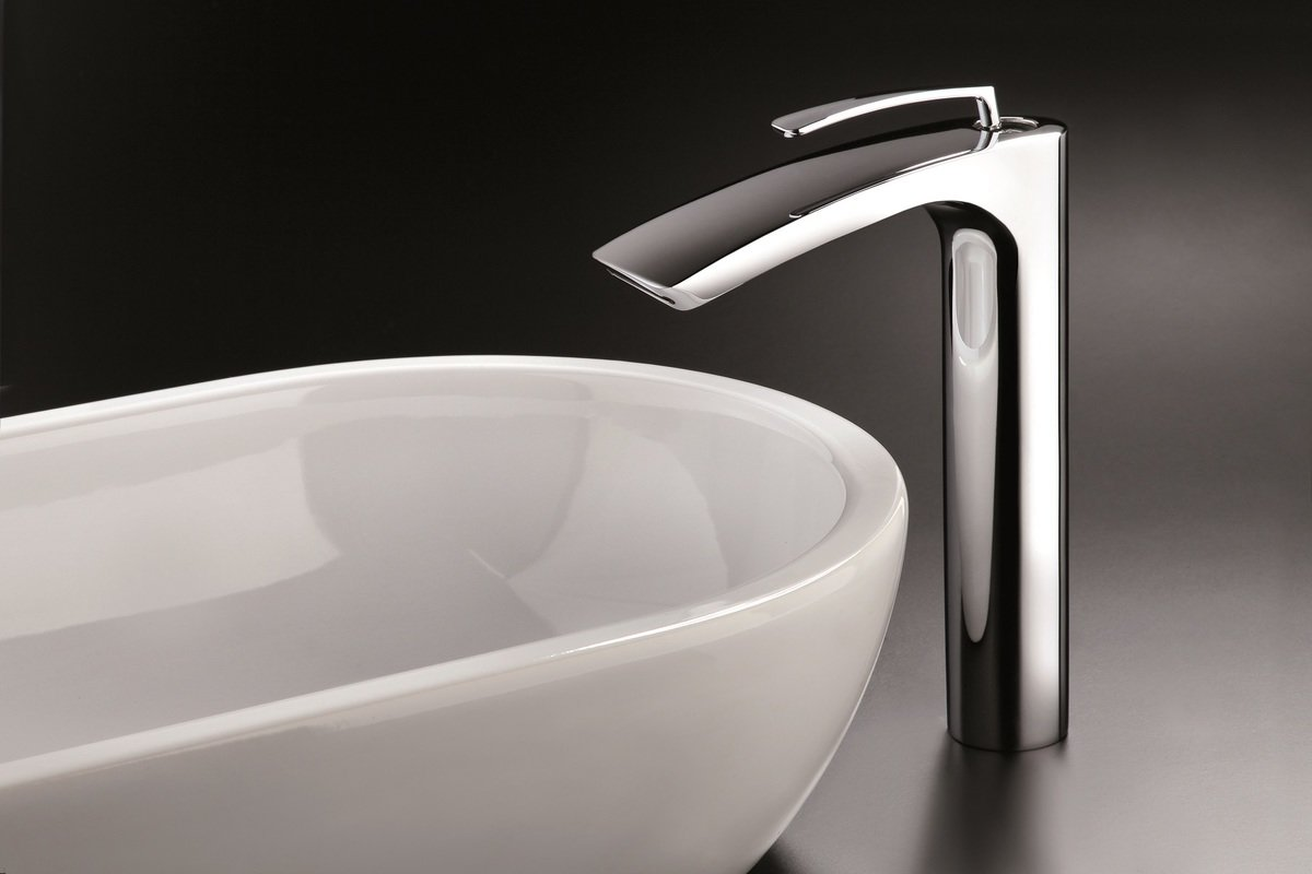 Bollicine 228 Sink Faucet Chrome by Aquatica (1) (web)