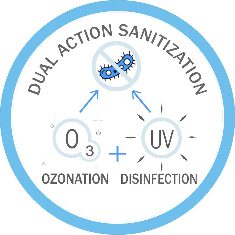 Dual water sanitization system (web)