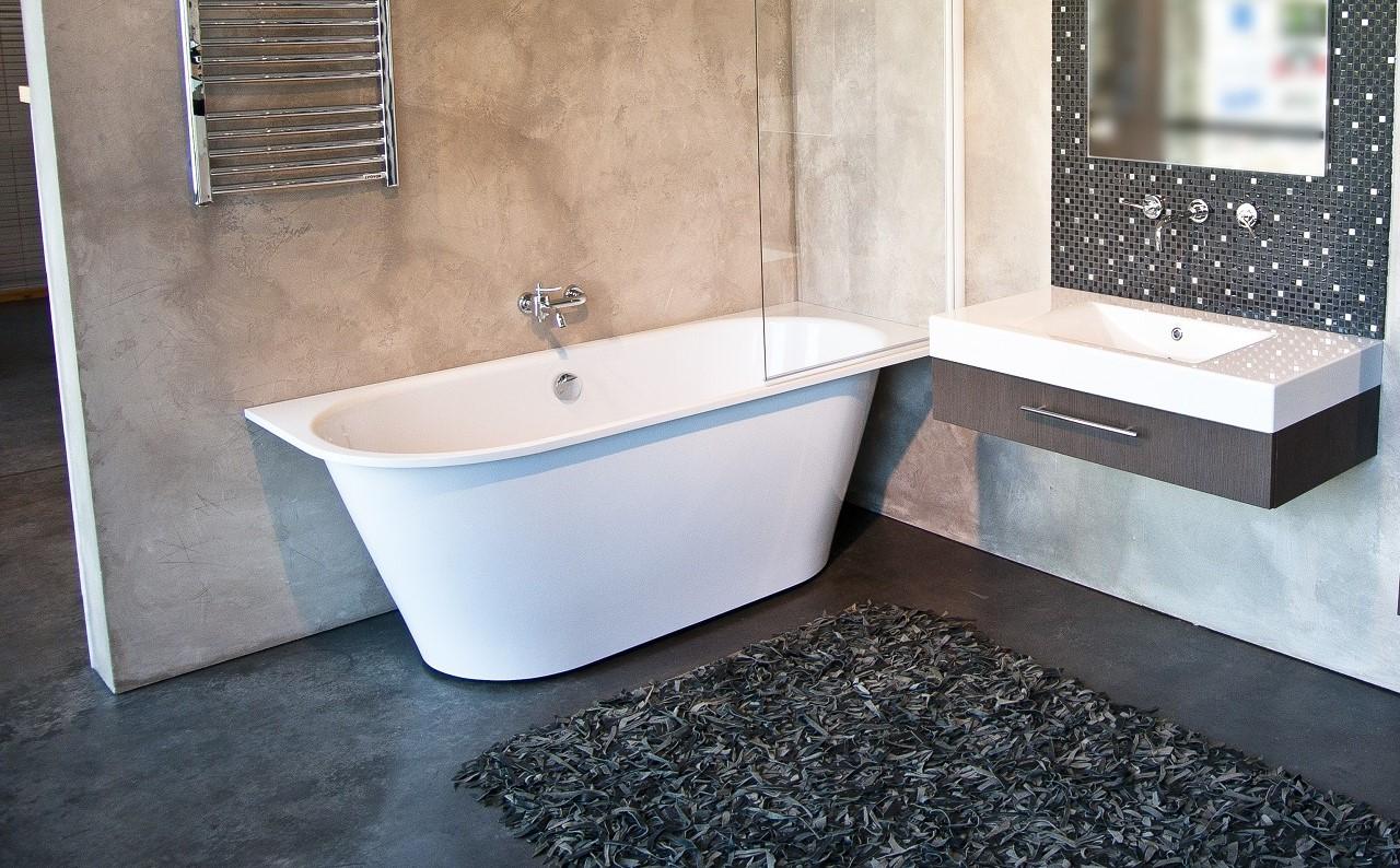 Inflection B L Corner Cast Stone Bathtub by Aquatica web 13 2